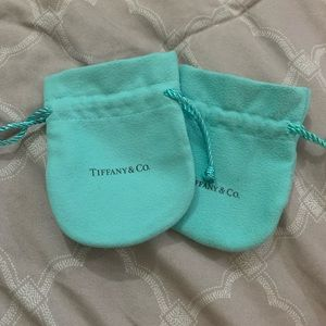 Set of 2 Authentic Tiffany & Co Pouches